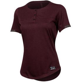 PEARL iZUMi Versa Short Sleeve Henley Women port